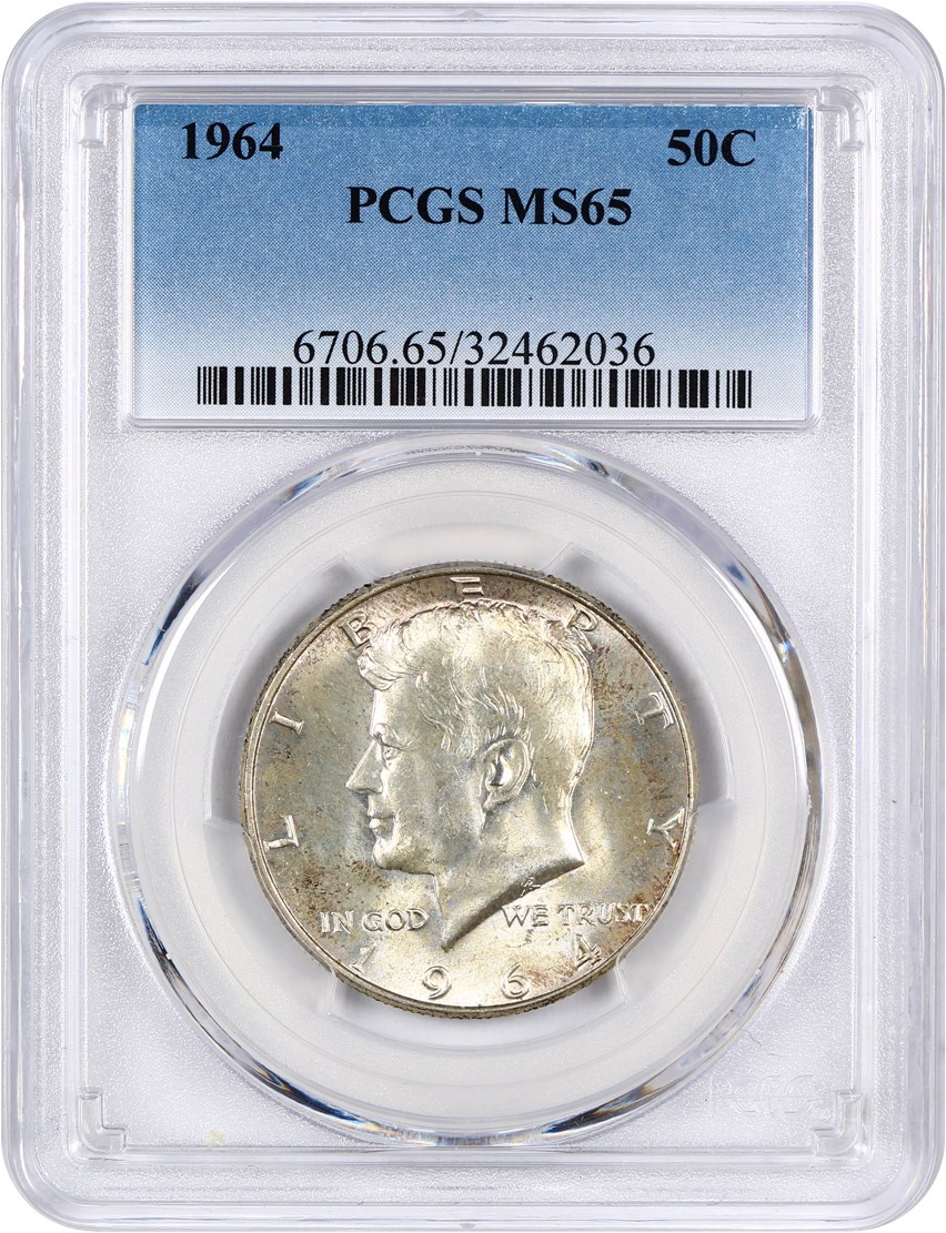 Kennedy Half Dollar (1964 to Date) - Coins for sale on