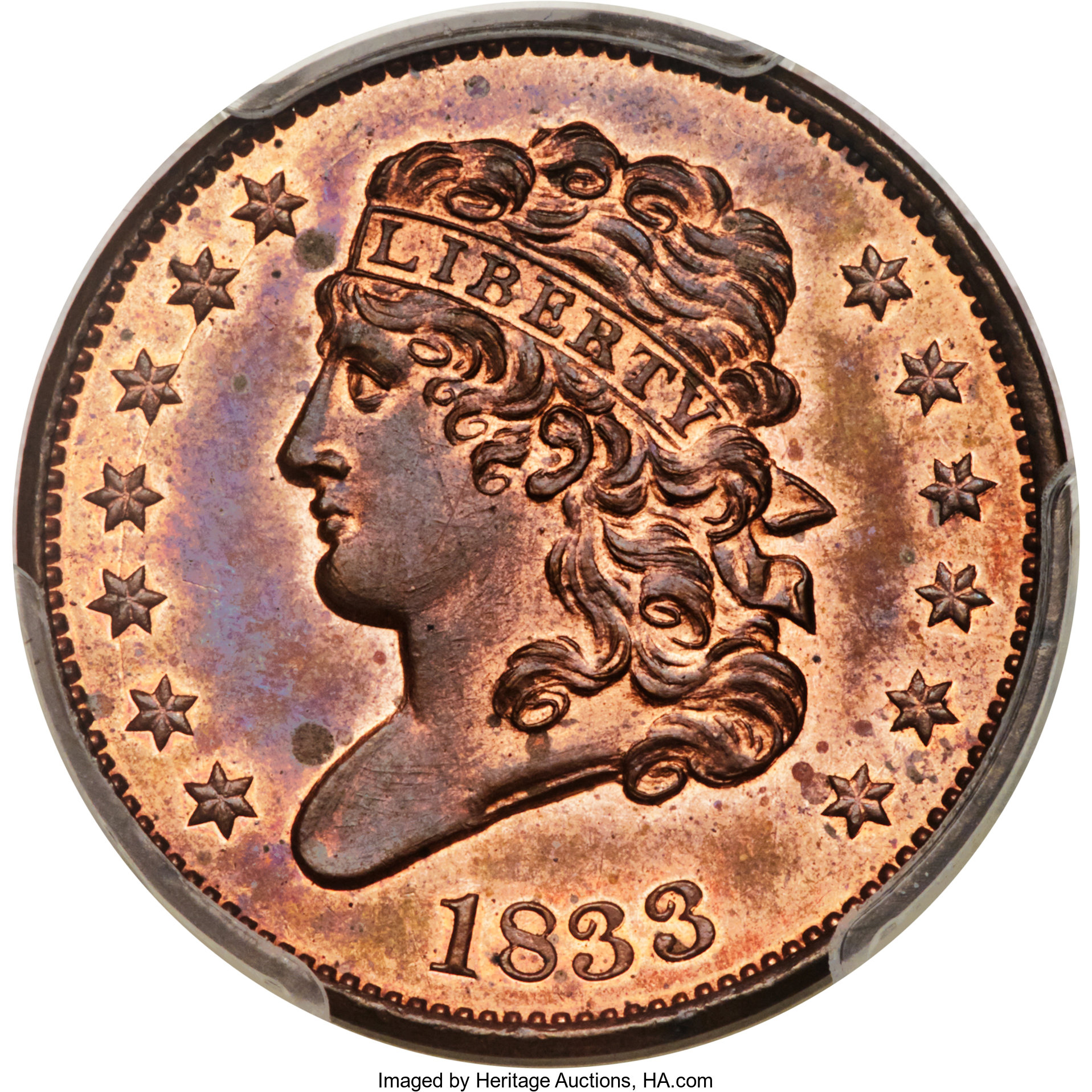 sample image for Classic Head Half Cent RB [Type]