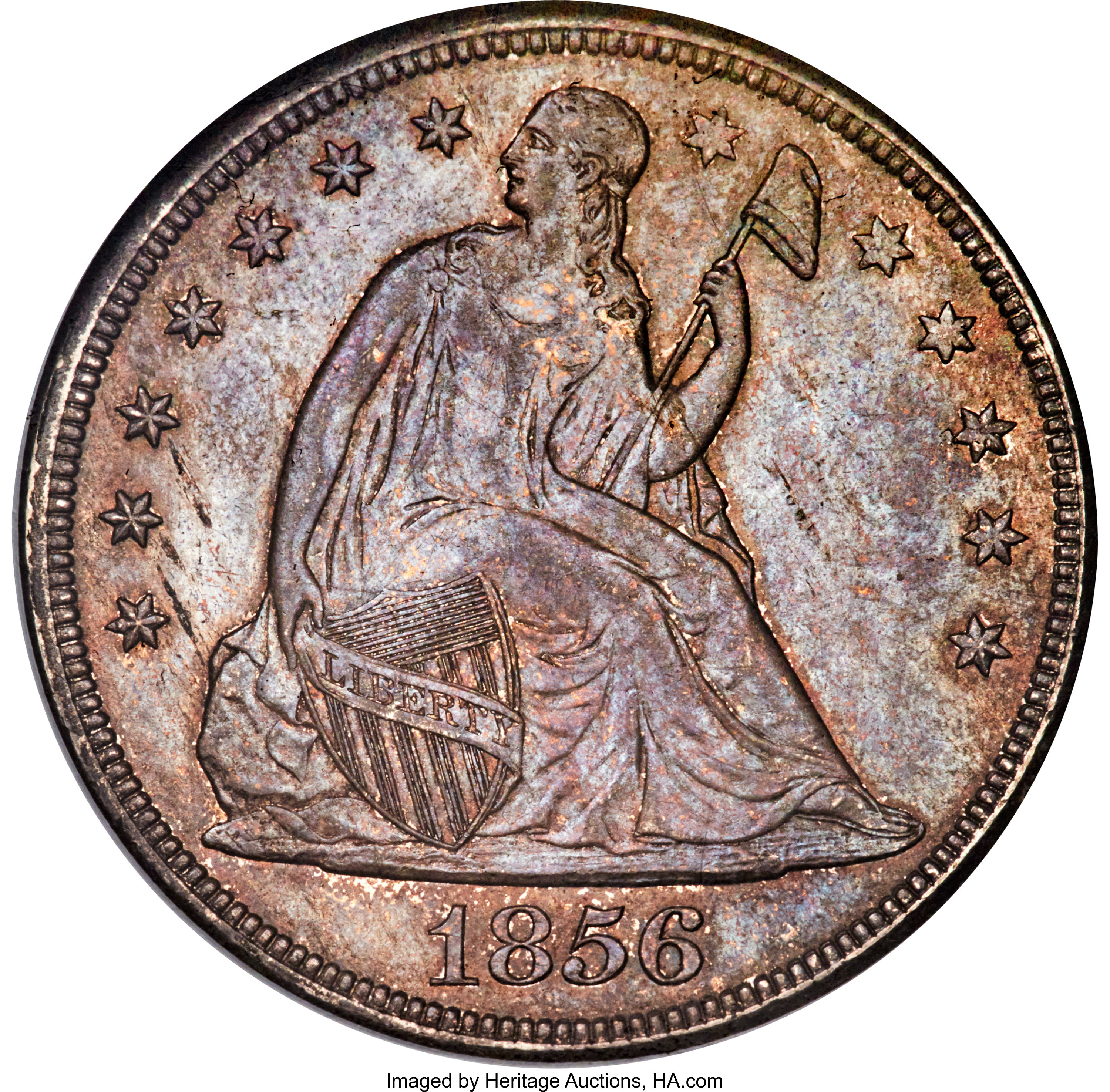 sample image for 1856 $1  MS