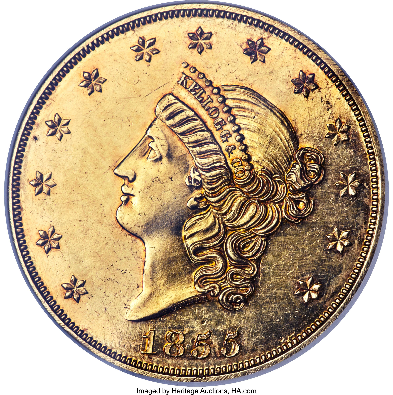 sample image for 1855 $50 Kellogg PR (K-4)