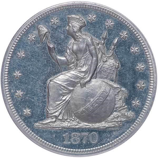 sample image for 1870 P$1 (J-1019) PR