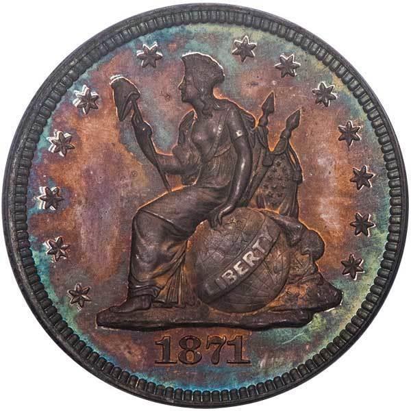 sample image for 1871 P25c (J-1099) PR