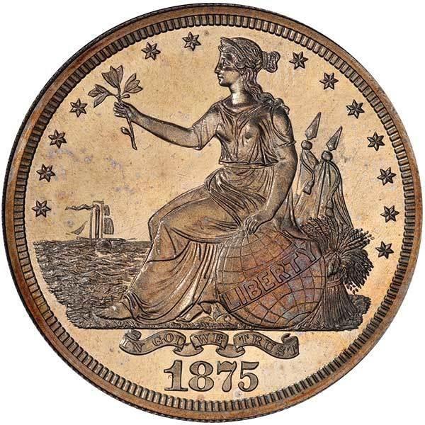 sample image for 1875 PT$1 (J-1426) PR
