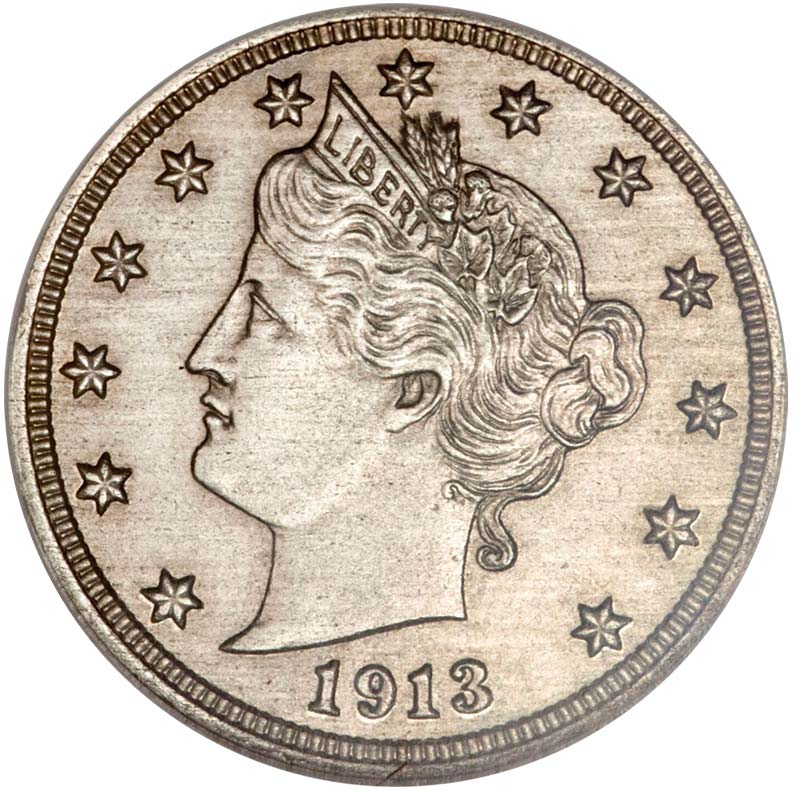sample image for 1913 Liberty 5c PR