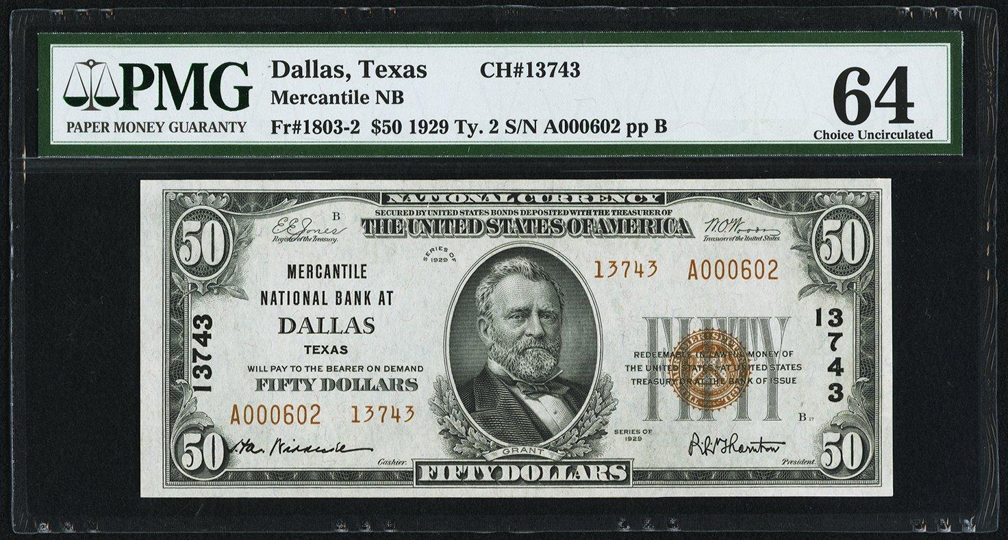 sample image for Fr.1803-2 $50 1929