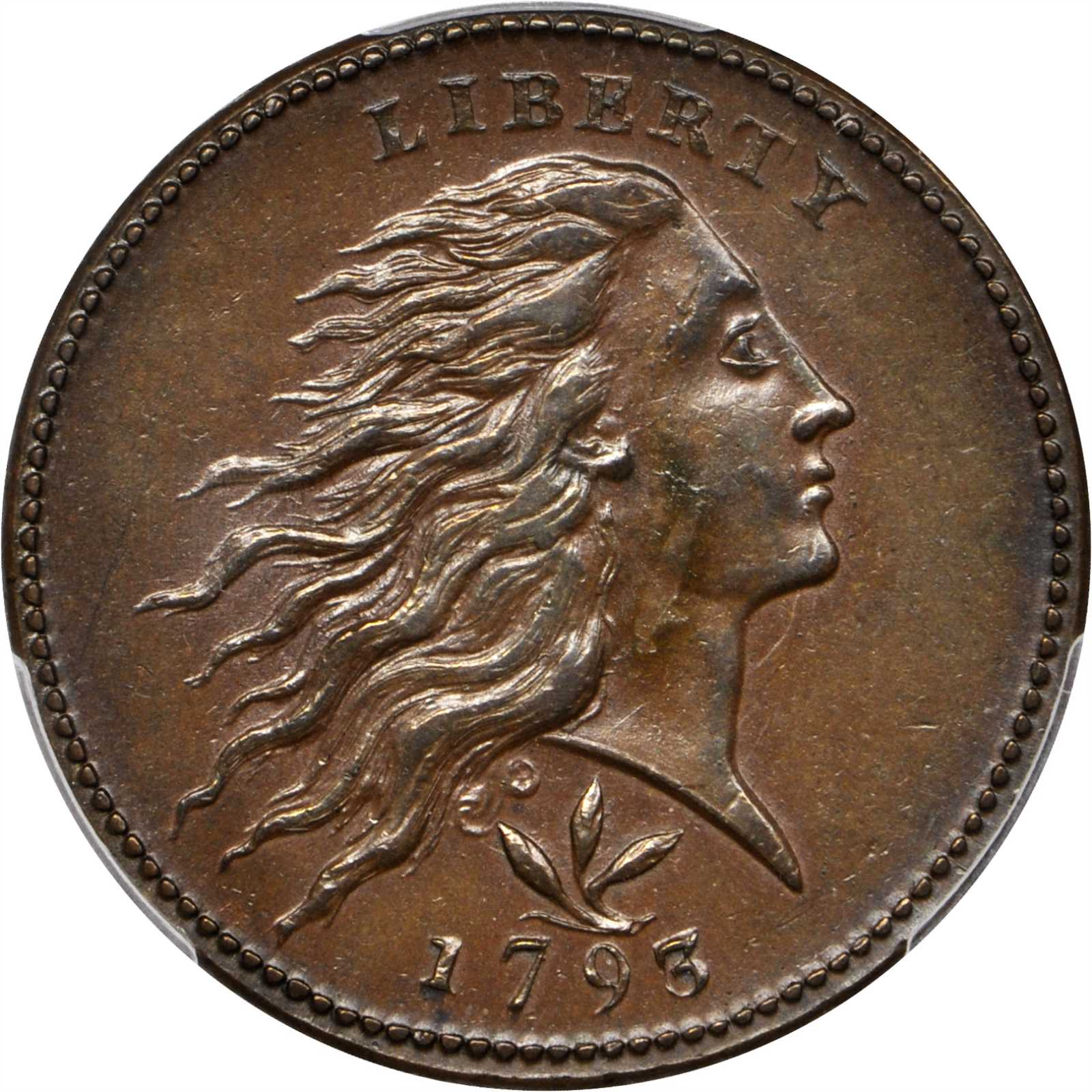 sample image for Wreath Cent BN [Type]