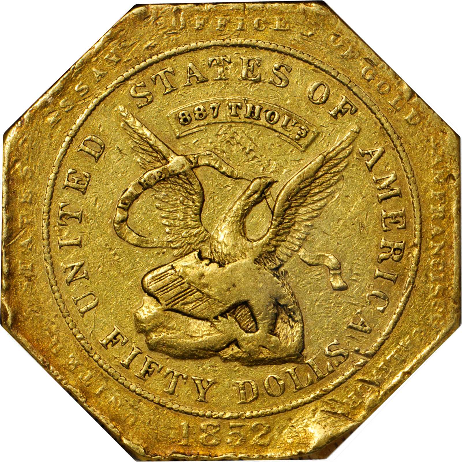 sample image for Assay $50 887 THOUS, ASSAYER Inverted