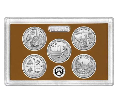 sample image for 2019-S Clad Quarters Proof Set 25c PR DCAM 5 Coins
