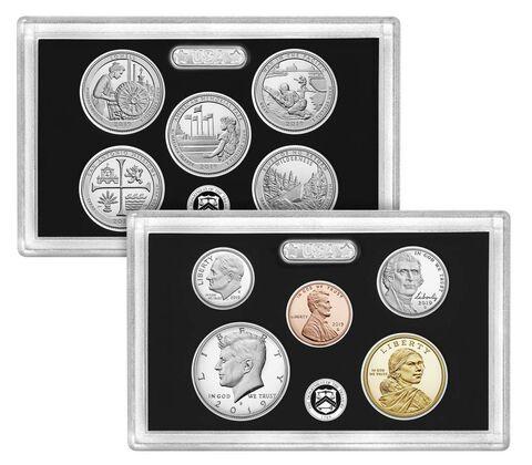 sample image for 2019-S Silver Proof Set 1c-$1 PR DCAM 10 Coins