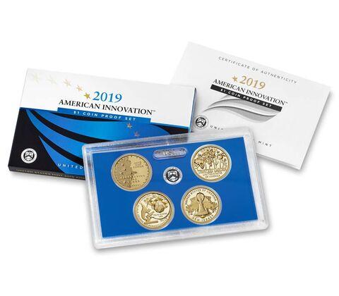 sample image for 2019-S American Innovation Proof Set $1  PR DCAM 4 Coins