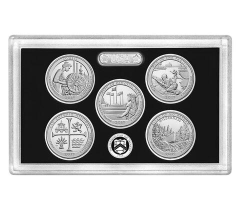 sample image for 2019-S Silver Quarters Proof Set 25c PR DCAM 5 Coins