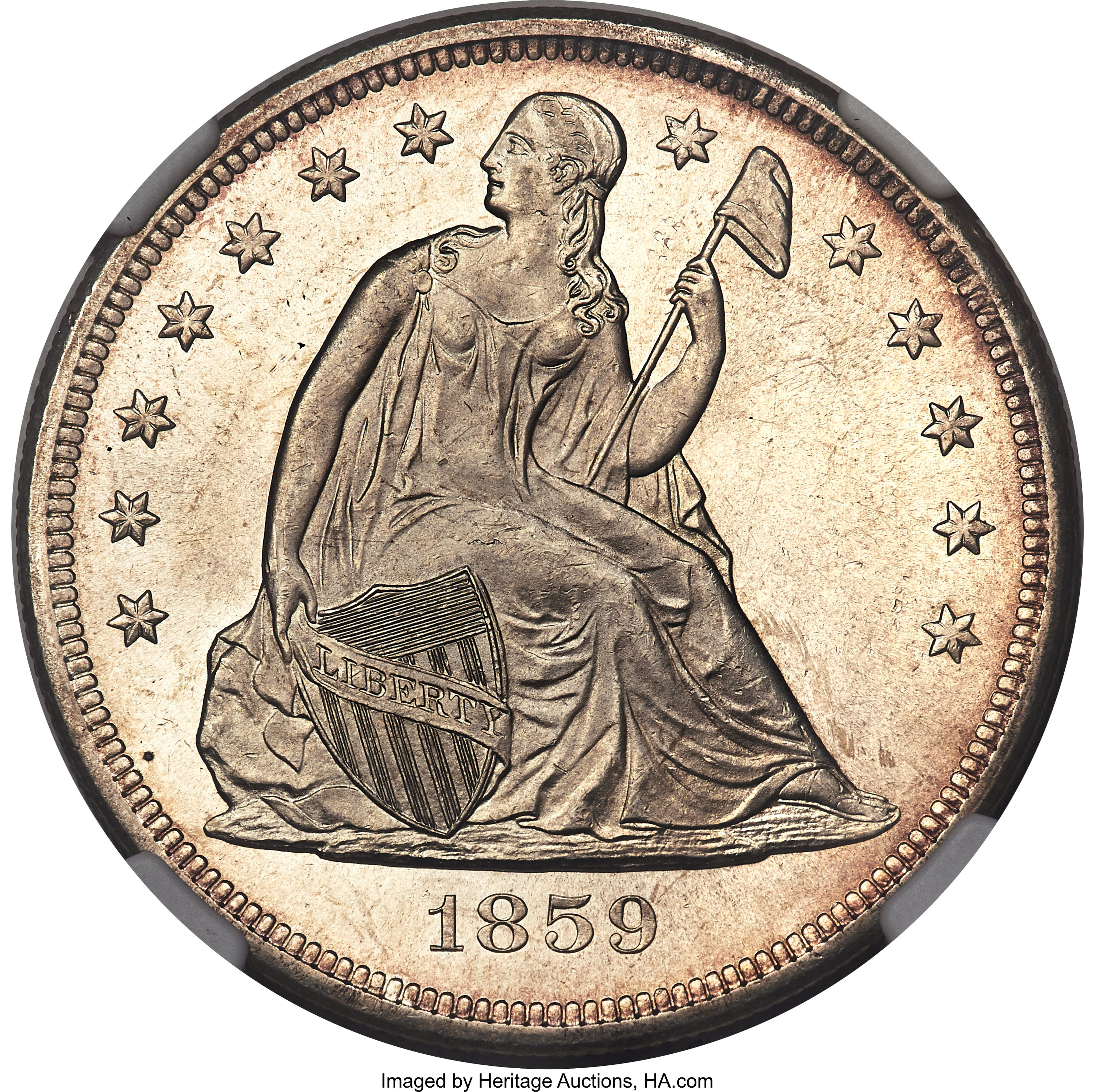 sample image for 1859-O $1  MS