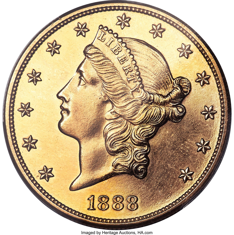 sample image for 1888 $20  PR