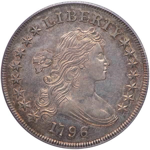 sample image for 1796 $1  MS Large Date, Small Letters