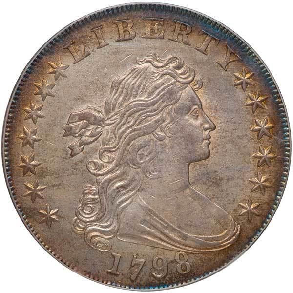 sample image for 1798 Large Eagle $1  MS Wide Date