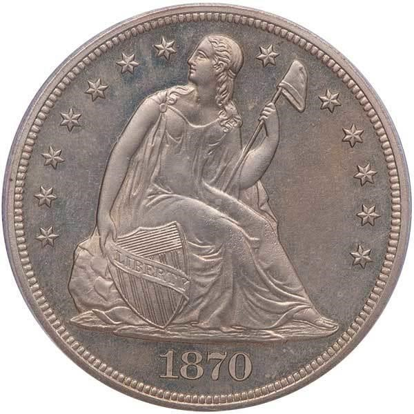 sample image for 1870 P$1 (J-1022) PR