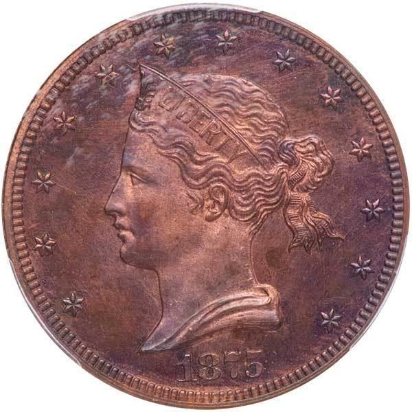 sample image for 1875 P$10 (J-1444) PR RB