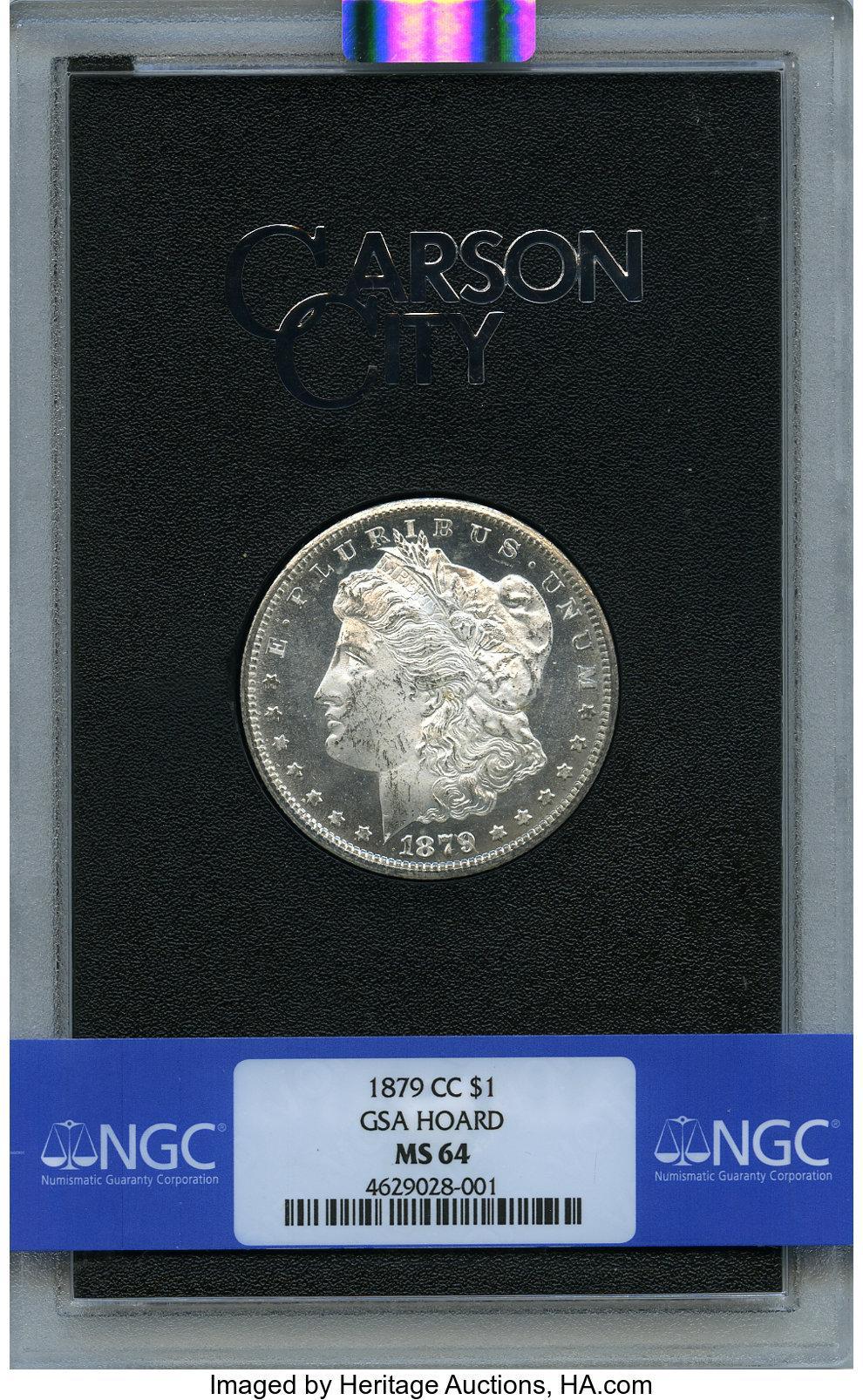 sample image for 1879-CC $1  MS GSA Hoard