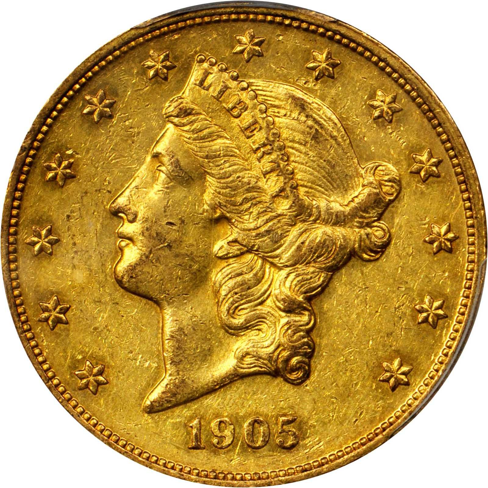 sample image for 1905 $20  PR