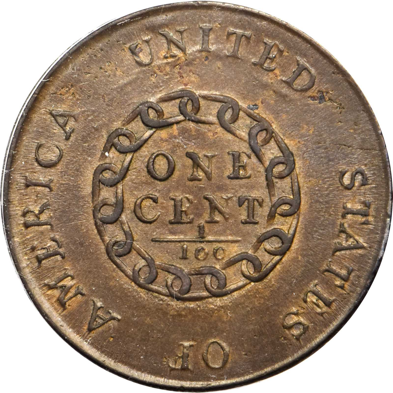 sample image for 1793 Chain AMERICA