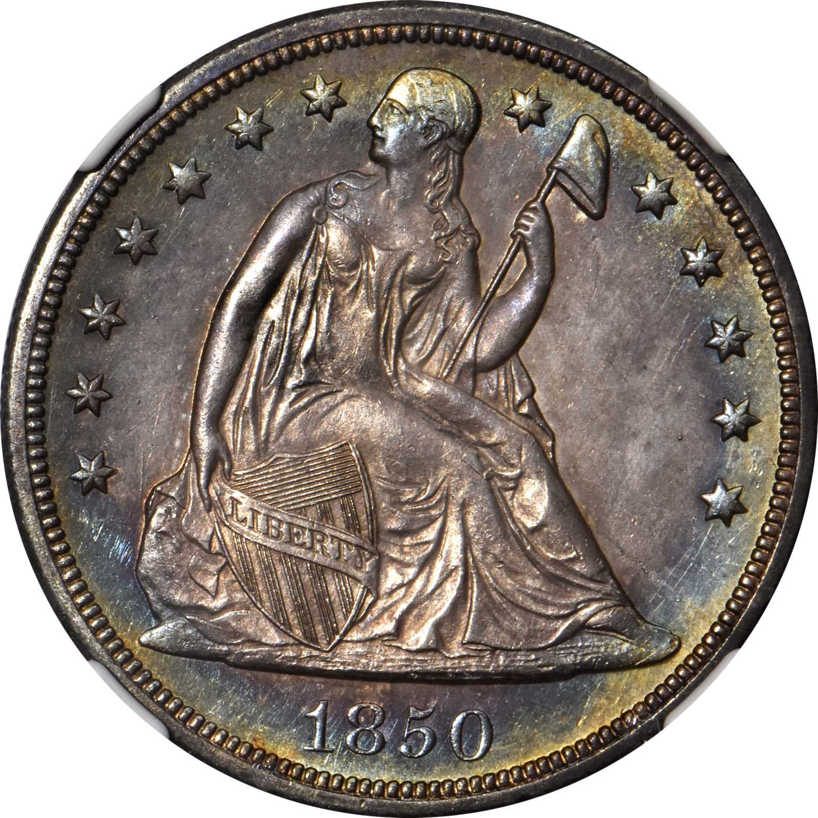 sample image for 1850-O $1  MS