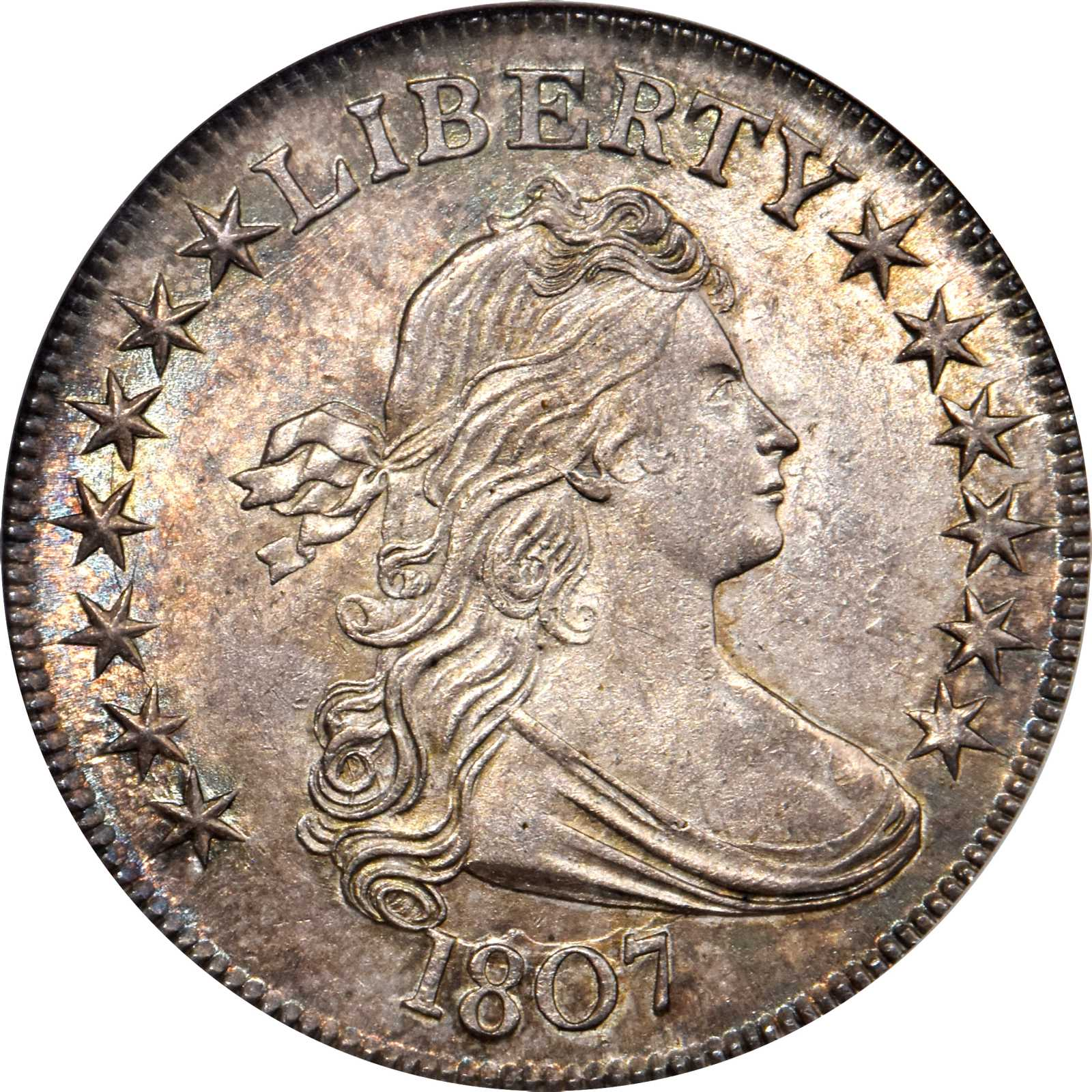 sample image for 1807 50c MS Draped Bust