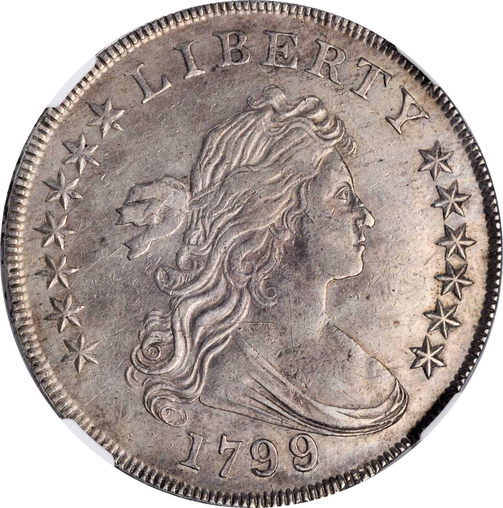 sample image for 1799/8 $1  MS 13 Stars Reverse