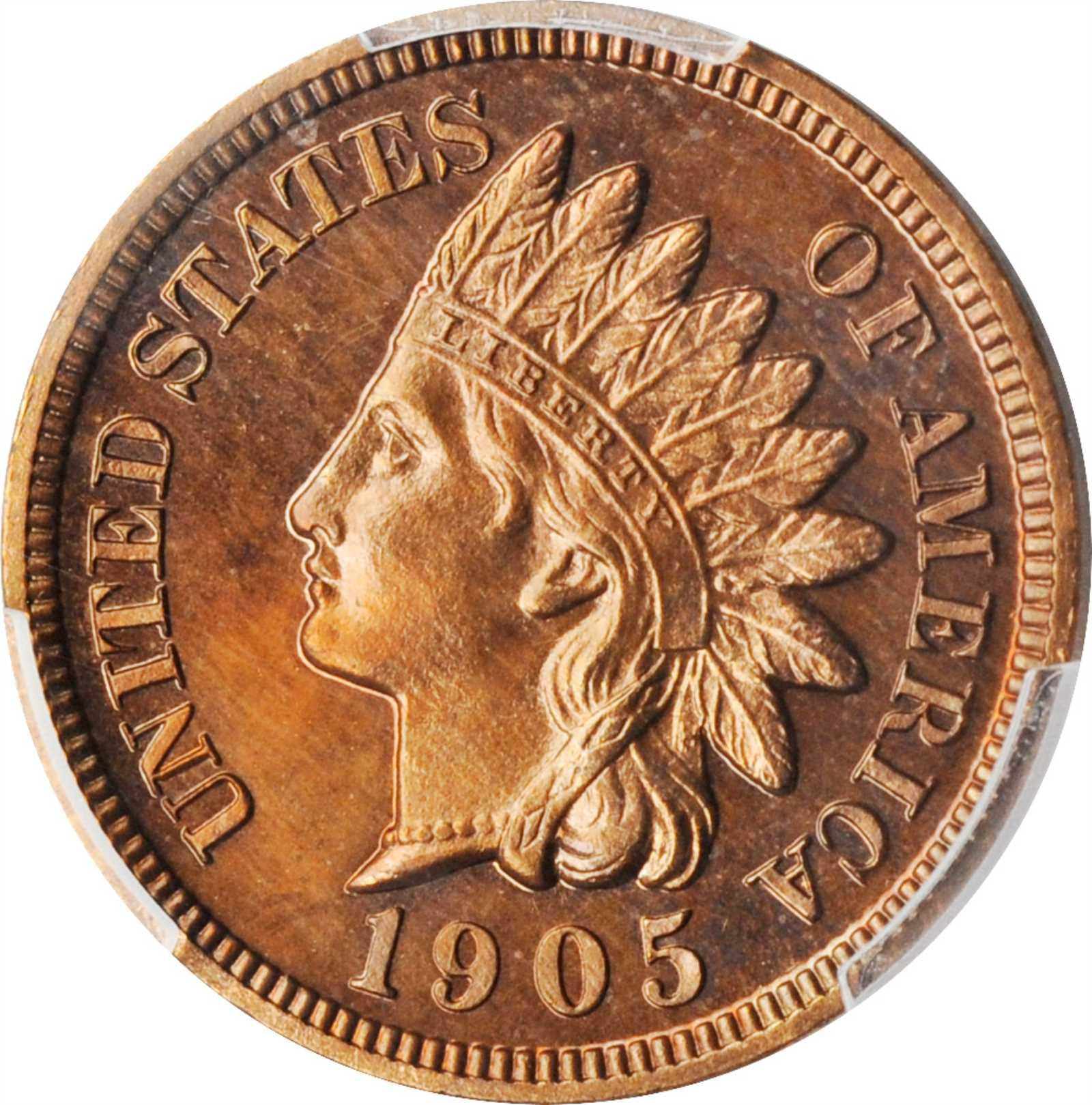 sample image for 1905 1c PR BN
