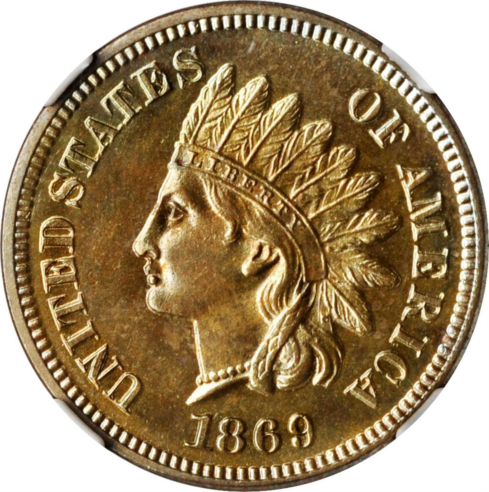sample image for 1869 1c PR BN