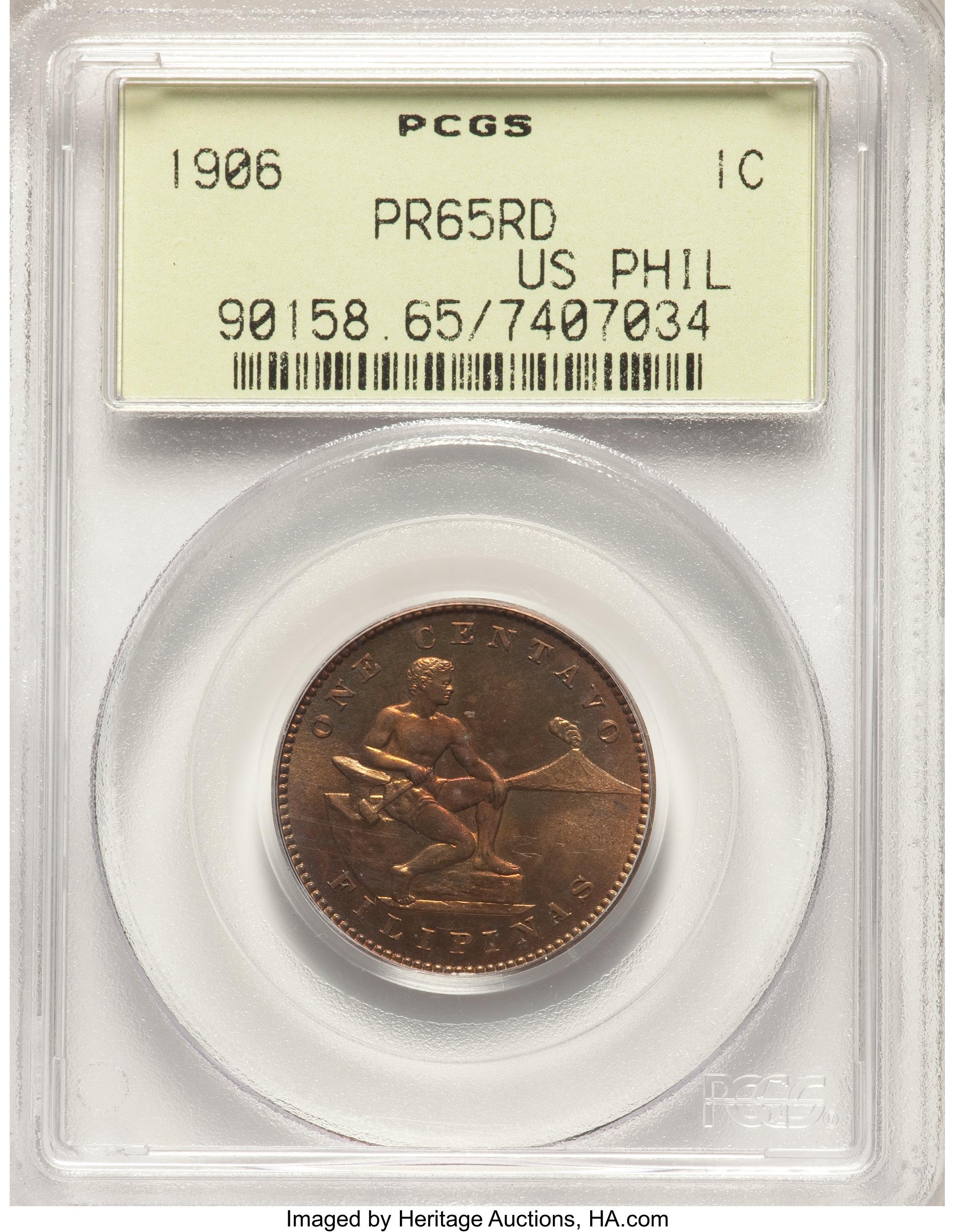 sample image for 1906 1c PR RD