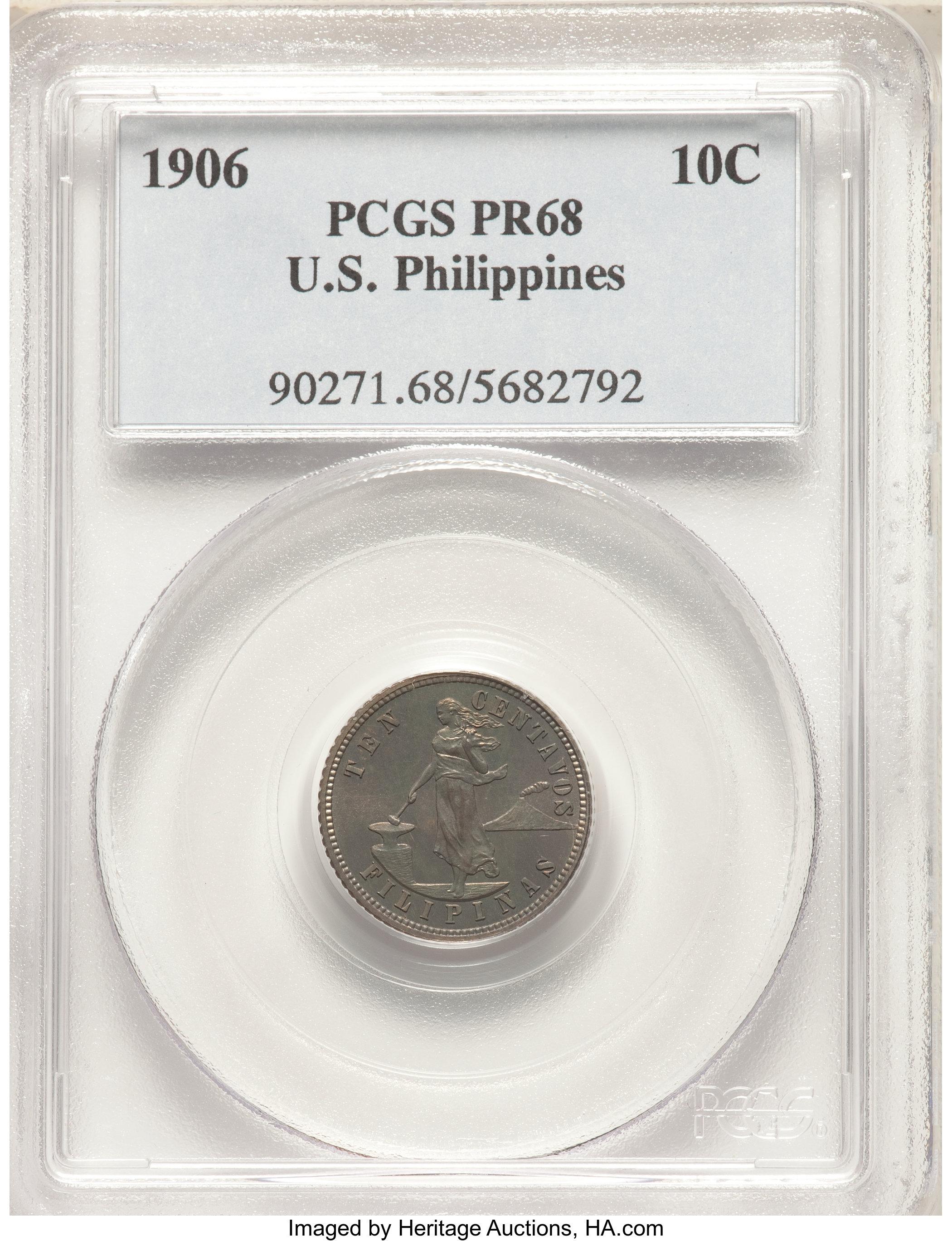 sample image for 1906 10c PR
