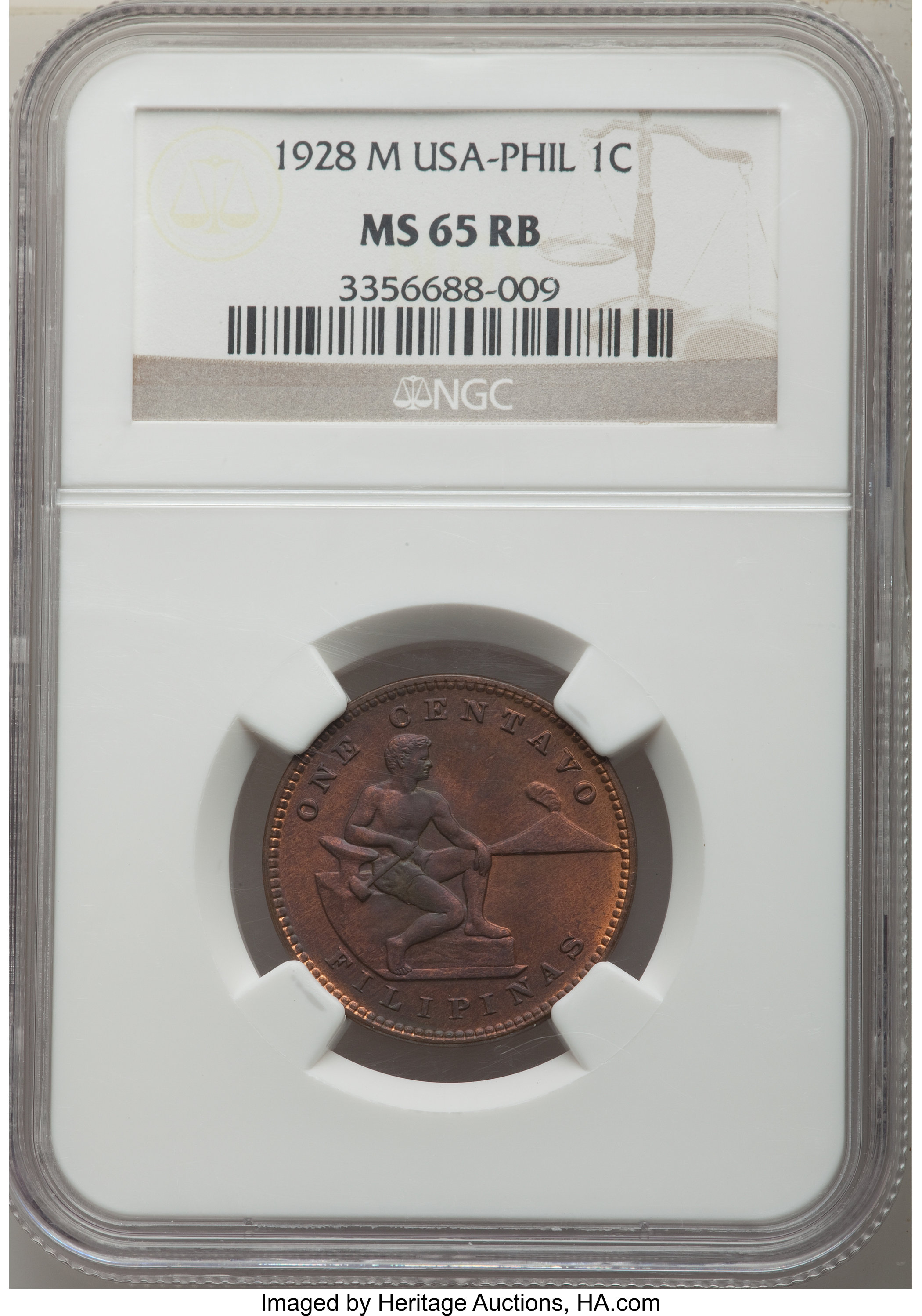 sample image for 1928-M 1c MS RB