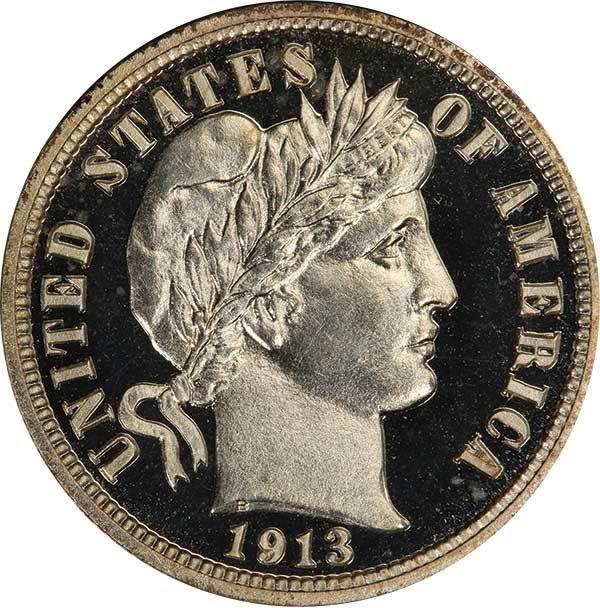 sample image for 1913 10c PR CAM