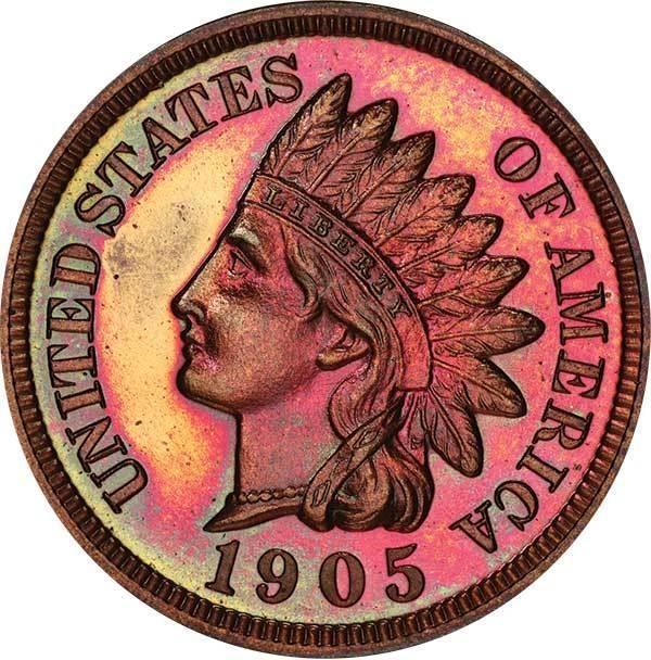 sample image for 1905 1c PR RB