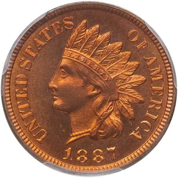 sample image for 1887 1c PR RD