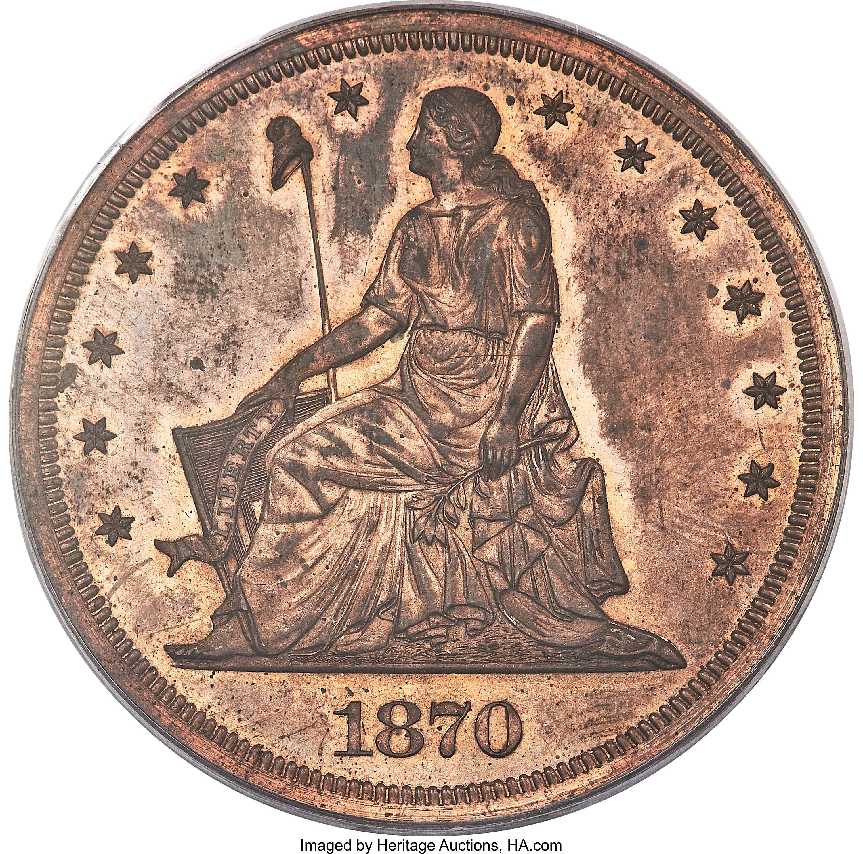 sample image for 1870 P$1 (J-1005) PR RB