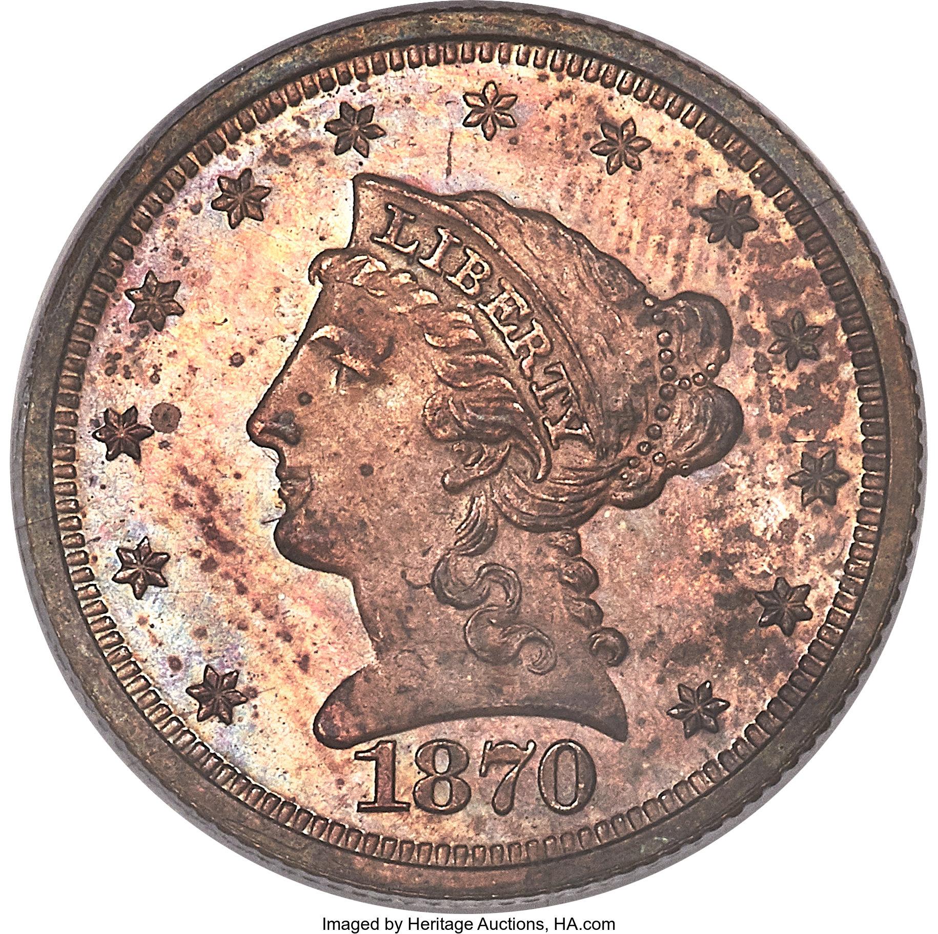sample image for 1870 P$2 (J-1026) PR RB