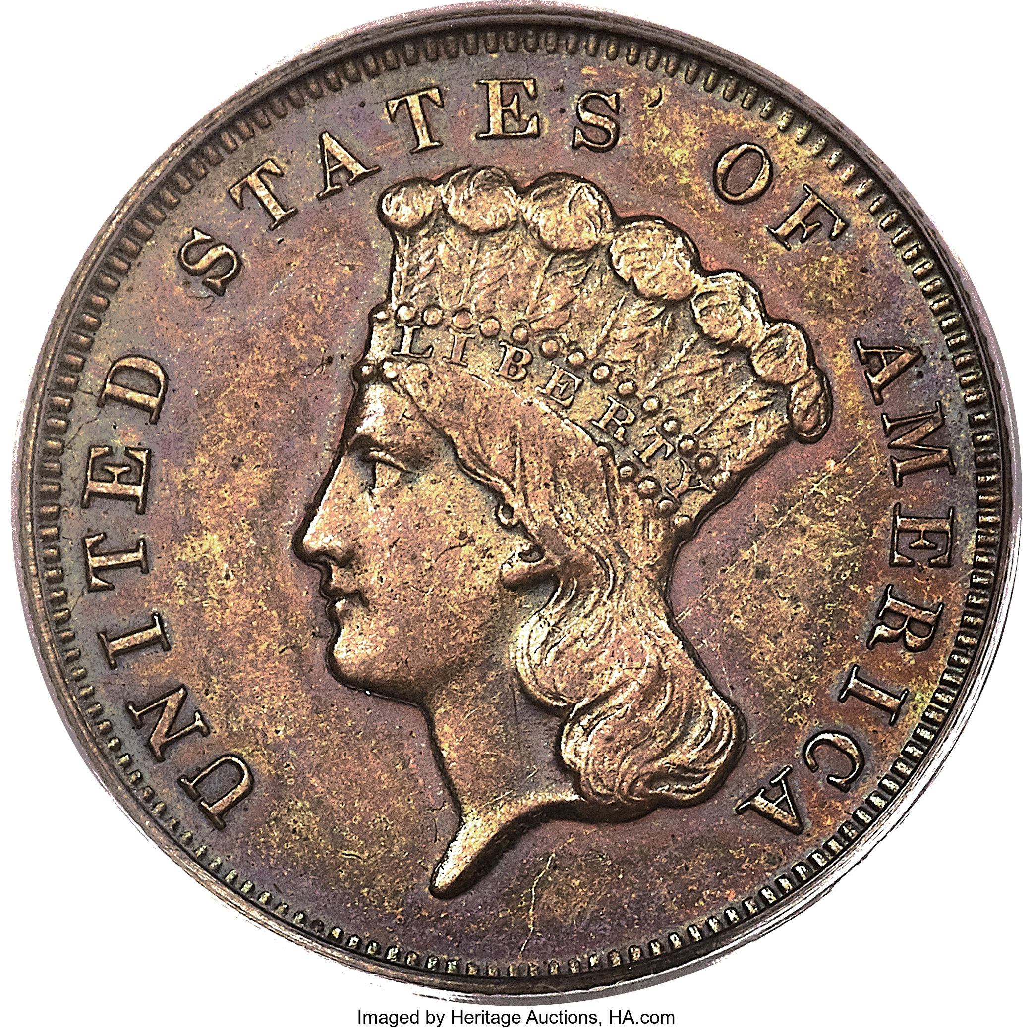 sample image for 1870 P$3 (J-1029) PR BN