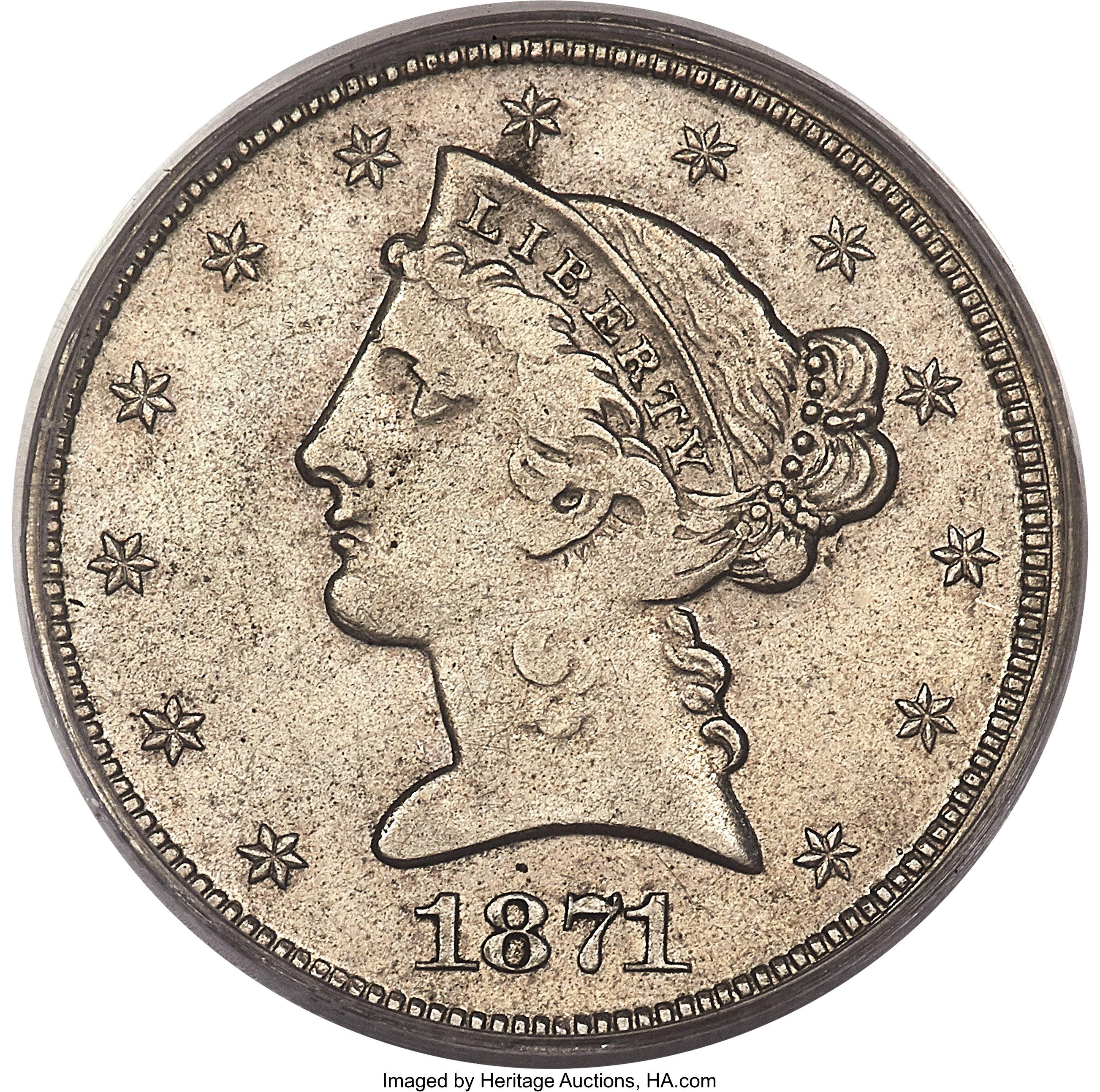 sample image for 1871 P$5 (J-1172) PR