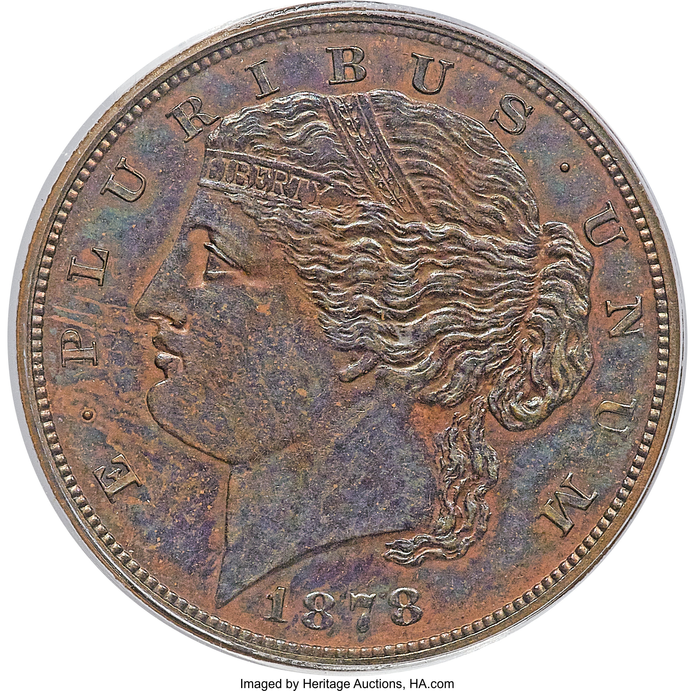 sample image for 1878 J-1573 P$5 PR BN