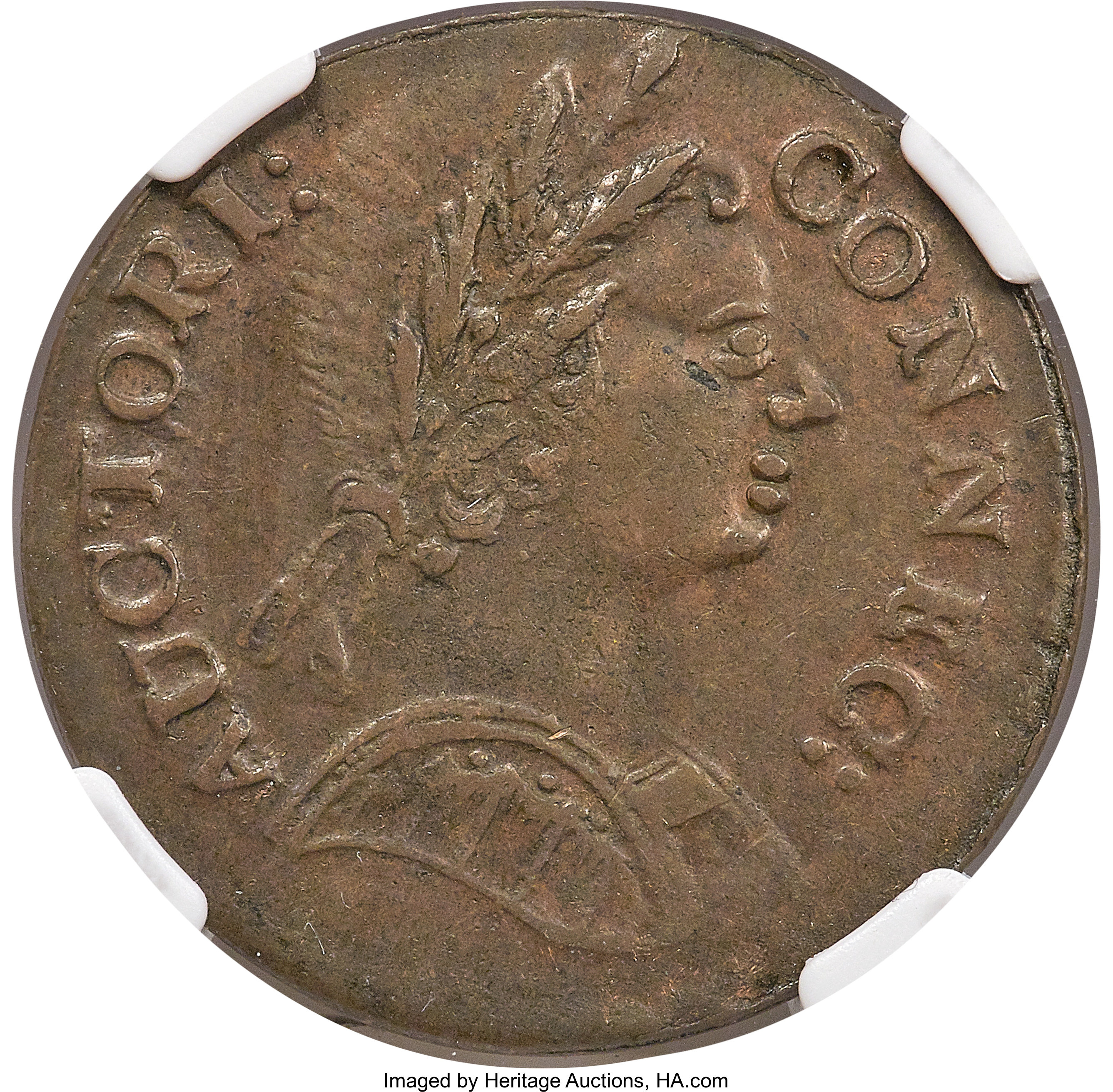sample image for 1785 Conn Bust Right BN