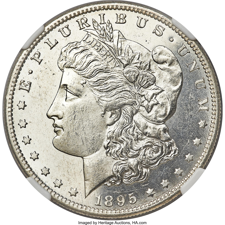 sample image for 1895-S $1  MS VAM-4, S/Horizontal S