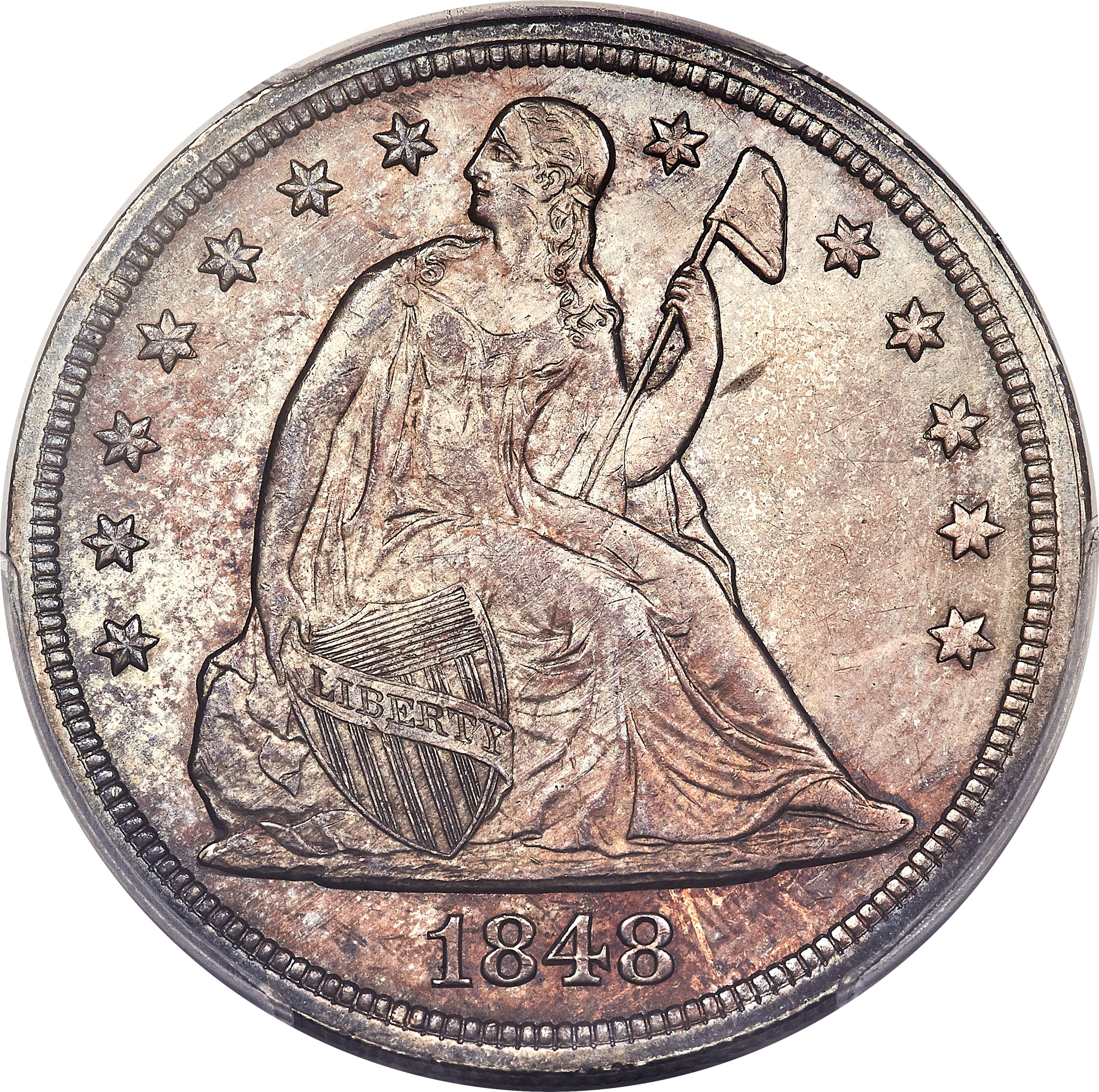 sample image for 1848 $1  MS