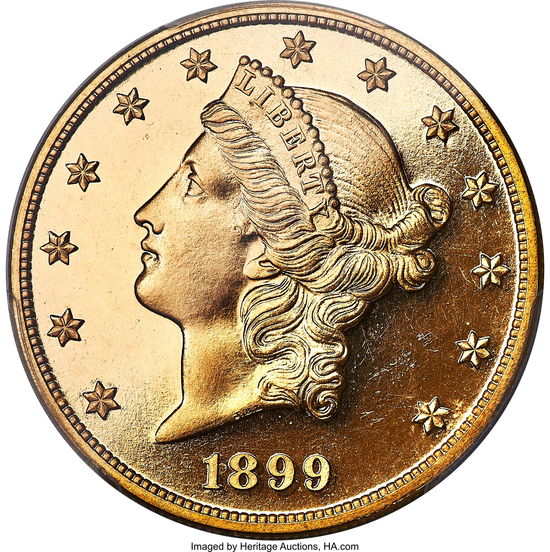 sample image for 1899 $20  PR DCAM