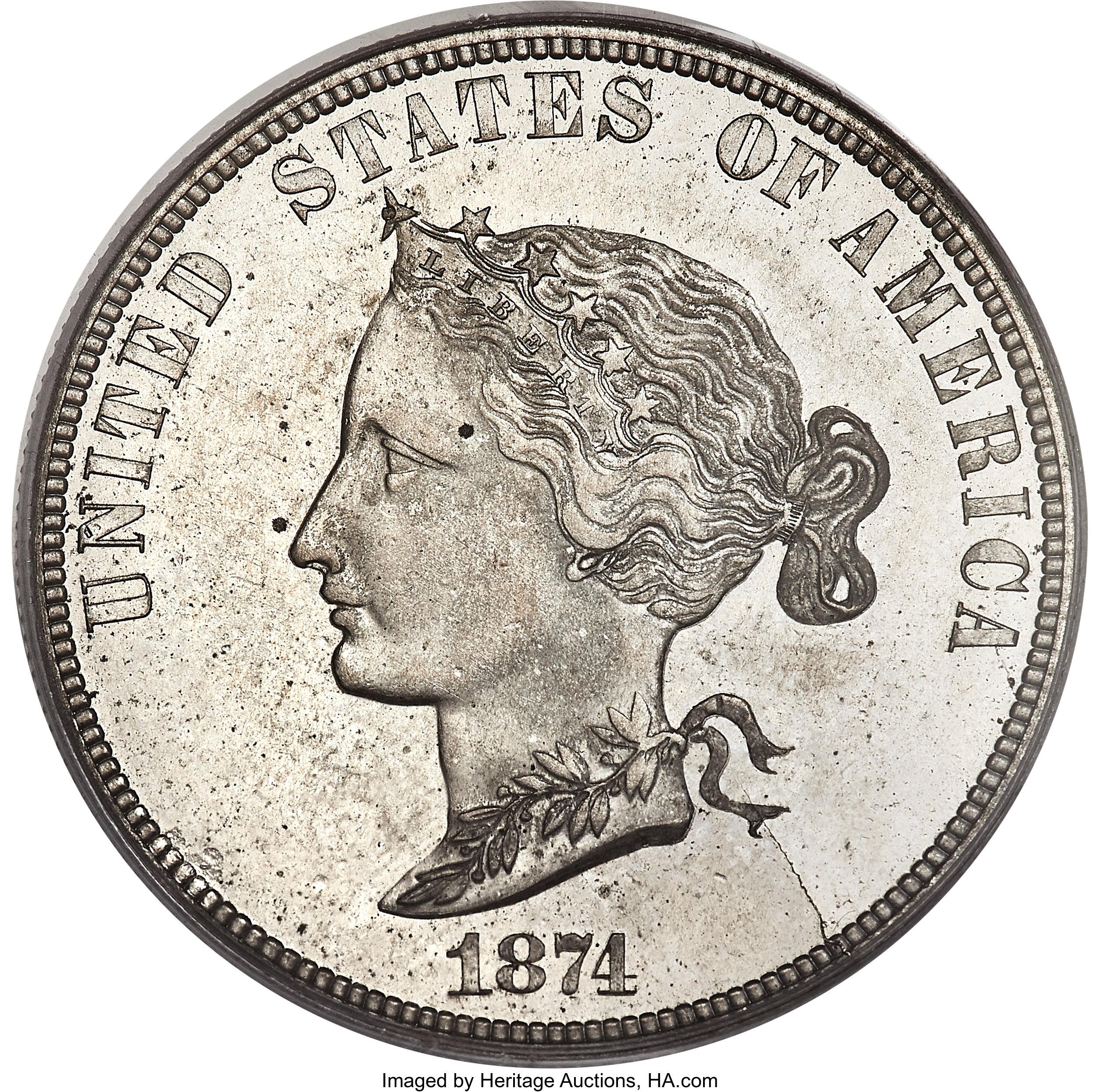 sample image for 1874 P$10 (J-1377) PR