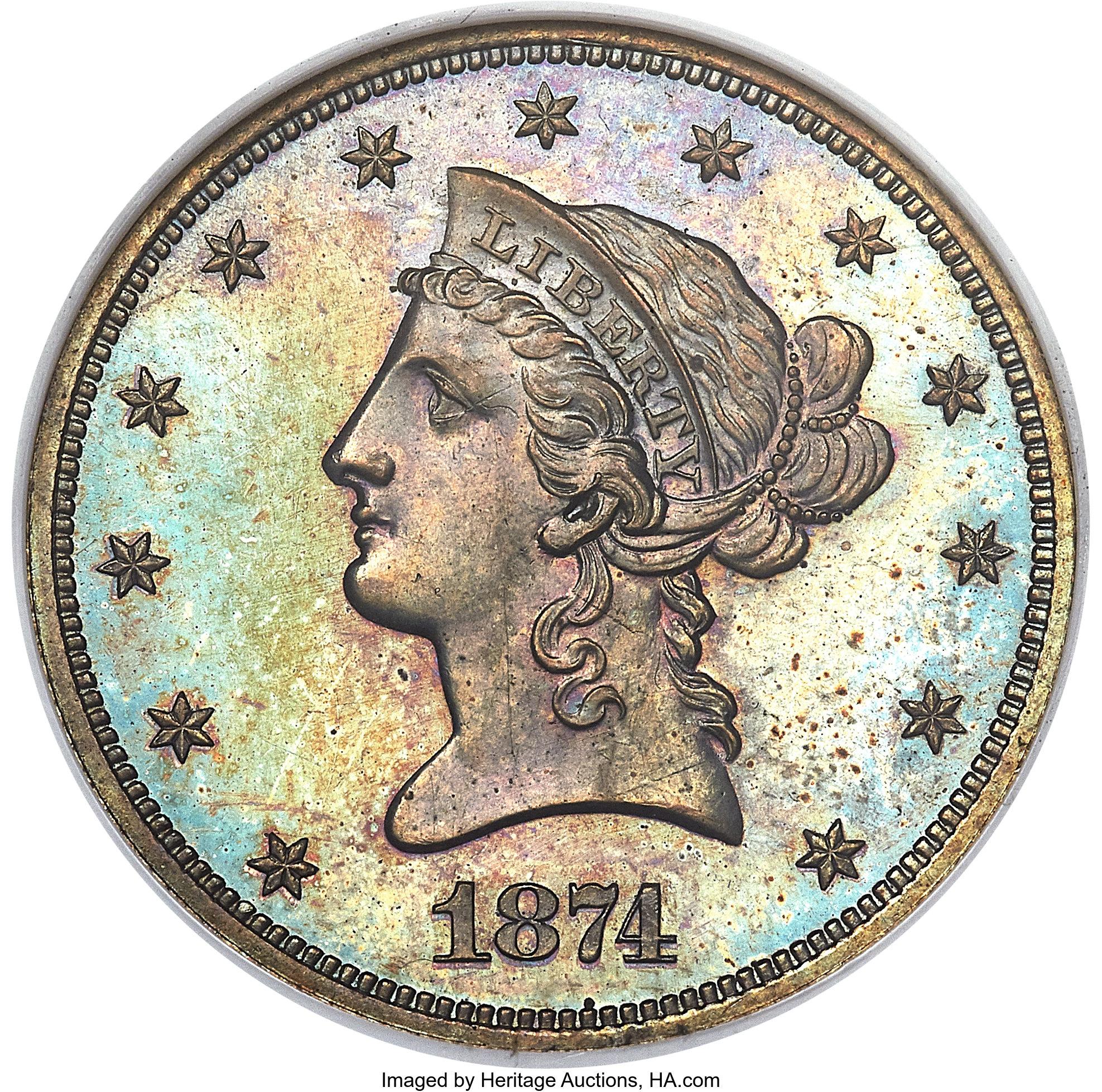 sample image for 1874 P$10 (J-1379) PR BN