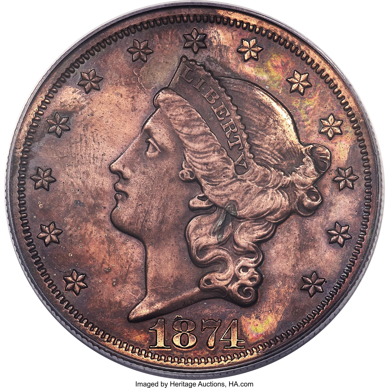 sample image for 1874 P$20 (J-1381) PR RB