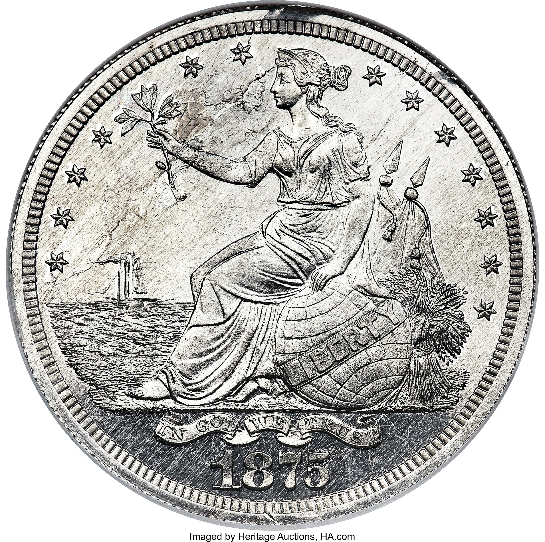sample image for 1875 P$1 (J-1422) PR