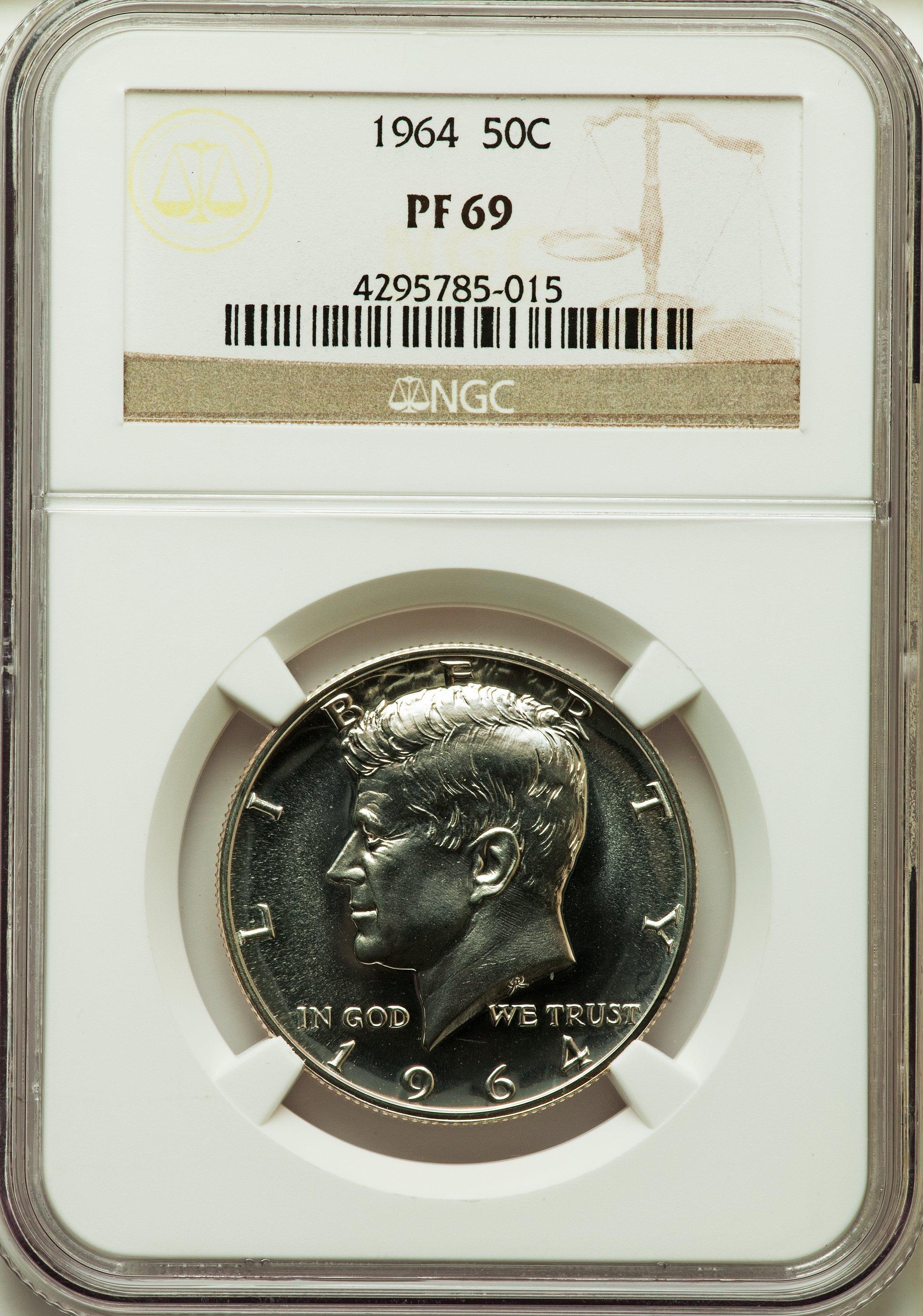 sample image for 1964 Proof Set 1c-50c PR