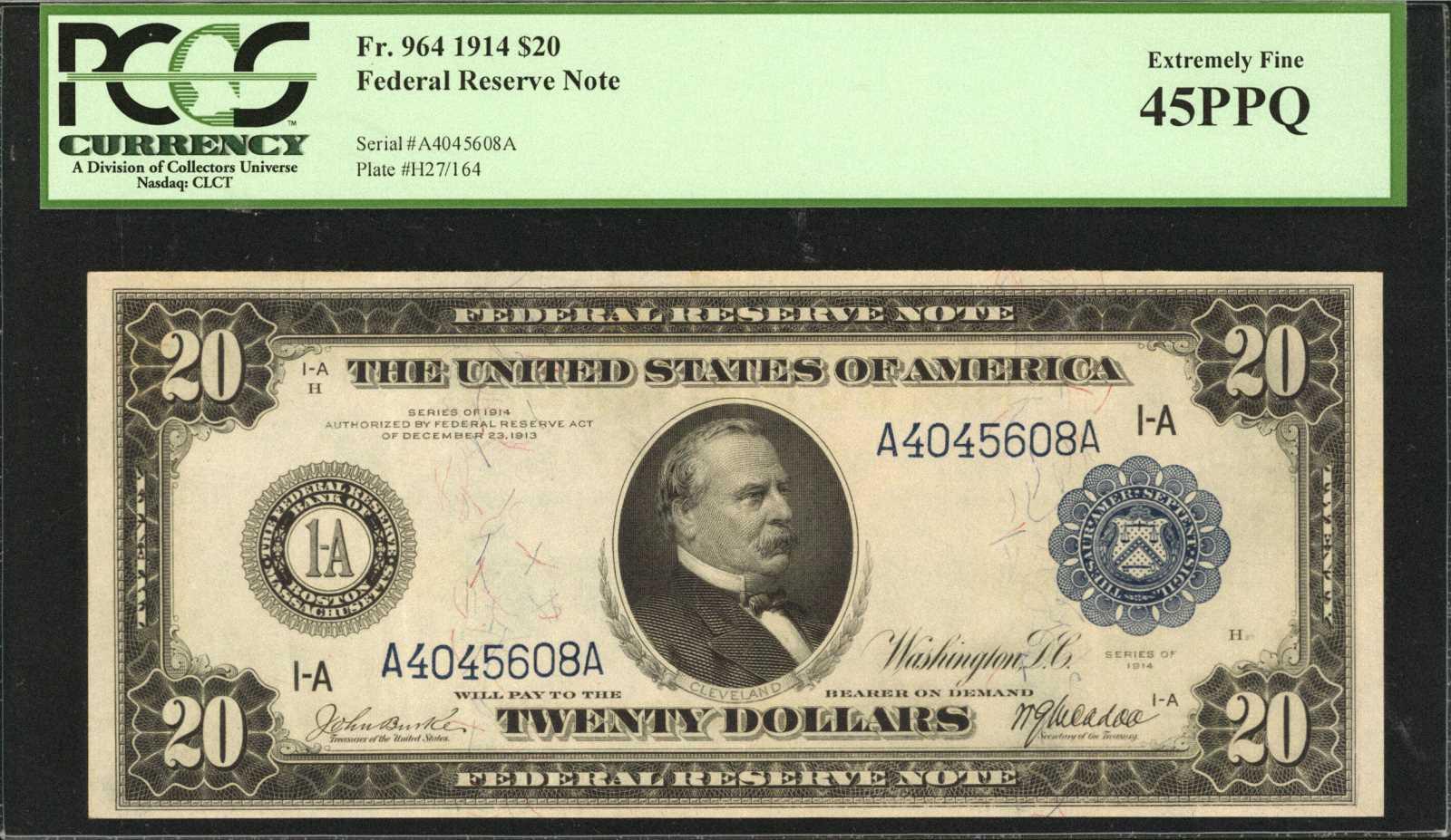sample image for Fr.964 $20 Boston